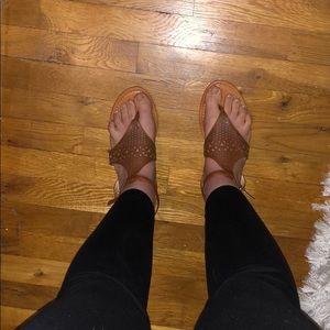 Jessica Simpson brown sandals size 9